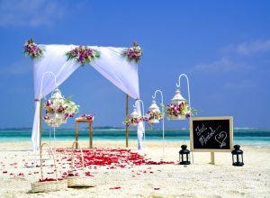 nunta plaja