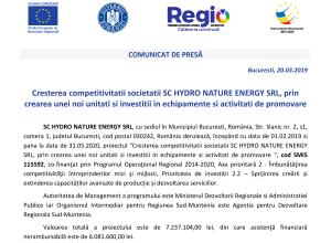 comunicat_Hydro-Nature