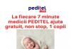 La fiecare 7 minute un copil este ajutat medical gratuit de echipa medicala PEDITEL-min