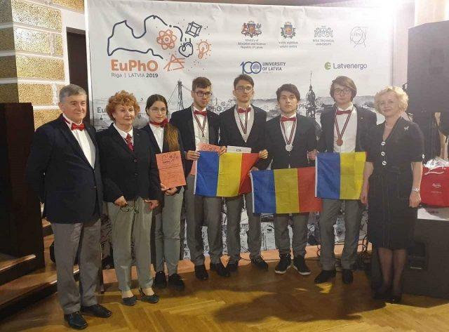 Olimpiada europeana de fizica