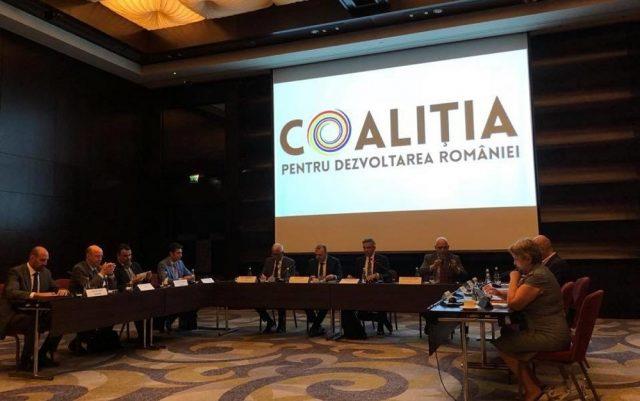 coalitia dezvoltarea romaniei