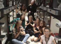 elevi blocati tokyo