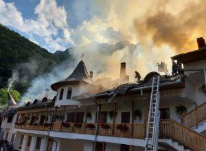 incendiu manastirea ramet